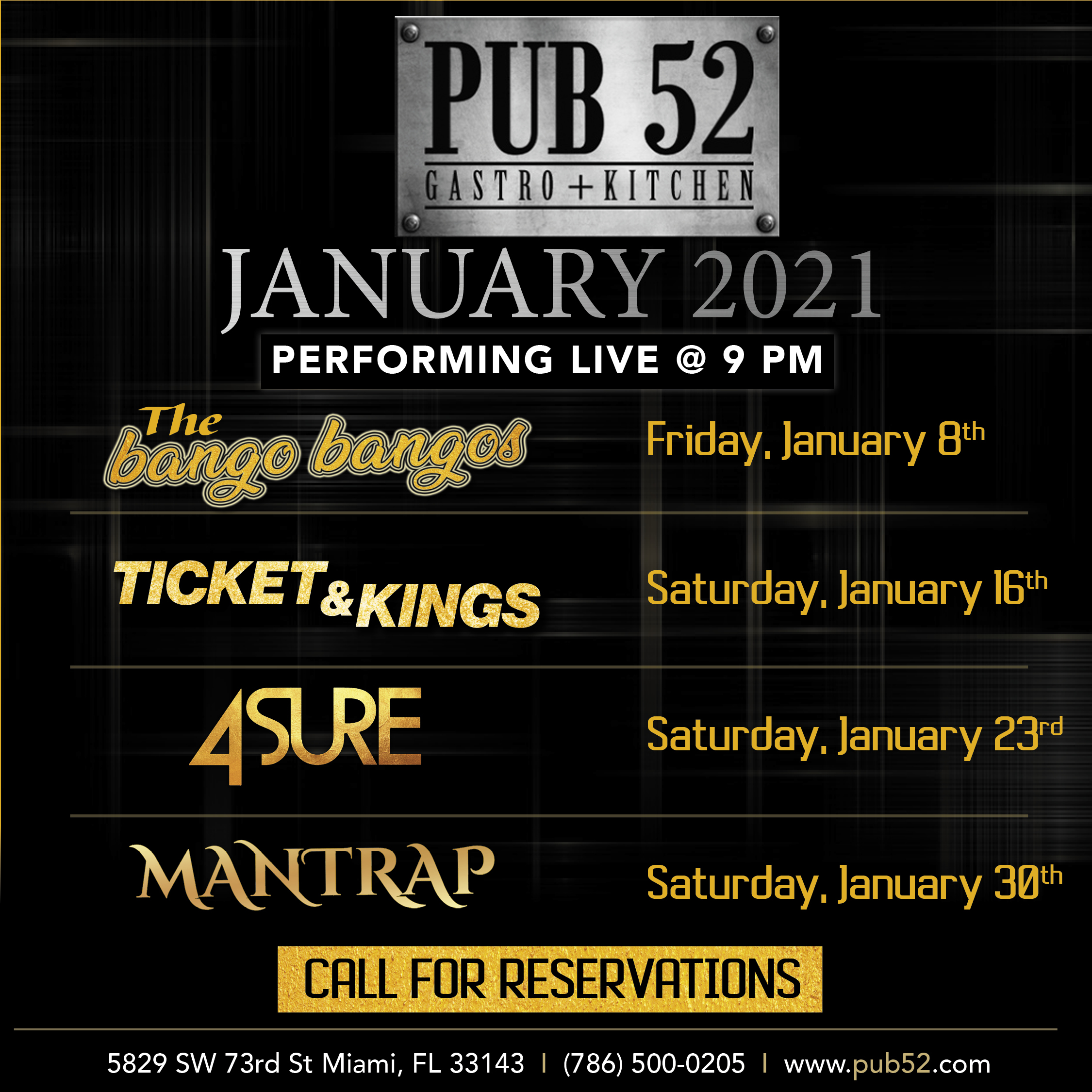 Pub52_Square_JANUARY_LINEUP_Band_LineUP--V1
